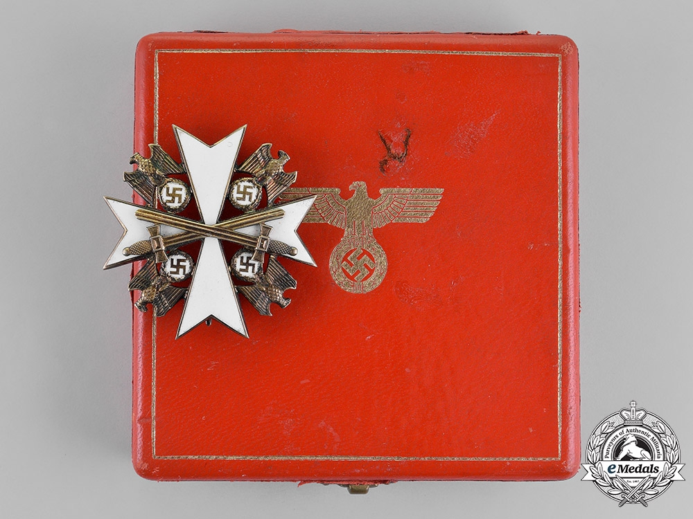 eMedals-Germany. An Order of the German Eagle Second Class with Swords by Gebrüder Godet & Co.