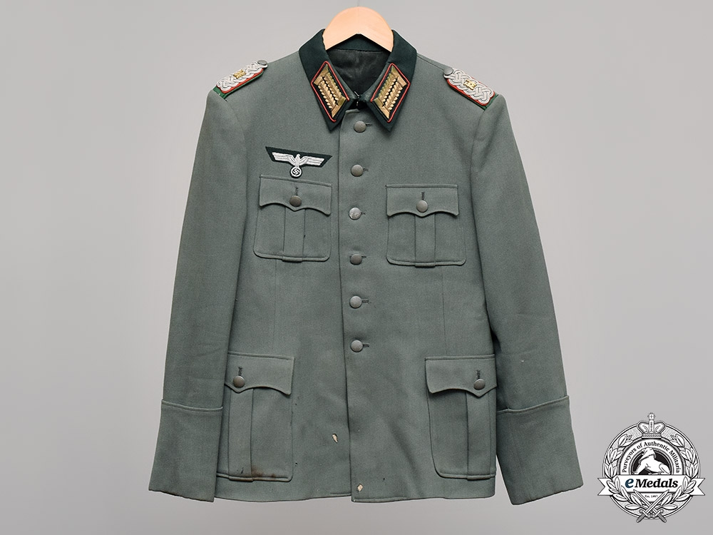 eMedals-Germany, Heeresverwaltung. A Military Administration (Heeresverwaltung) Officer's Tunic