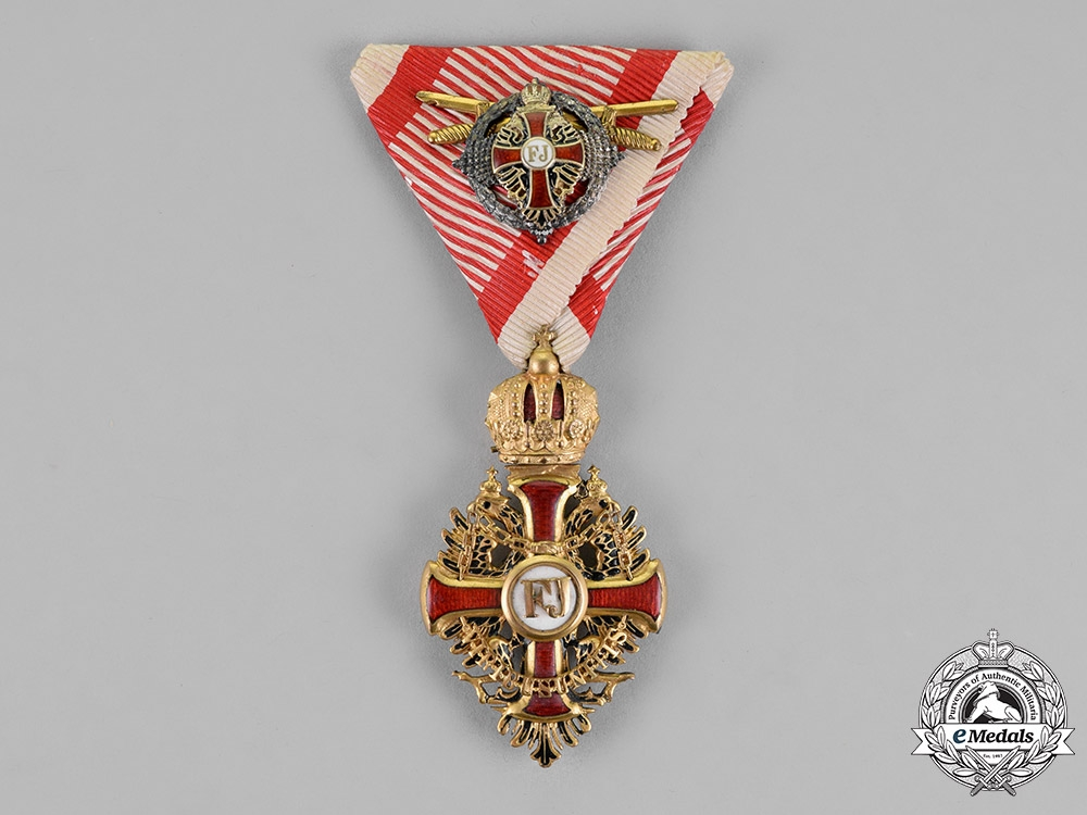 eMedals-Austria, Empire. An Order of Franz Joseph, Knight's Cross with Commander's Small Decoration, c.1917