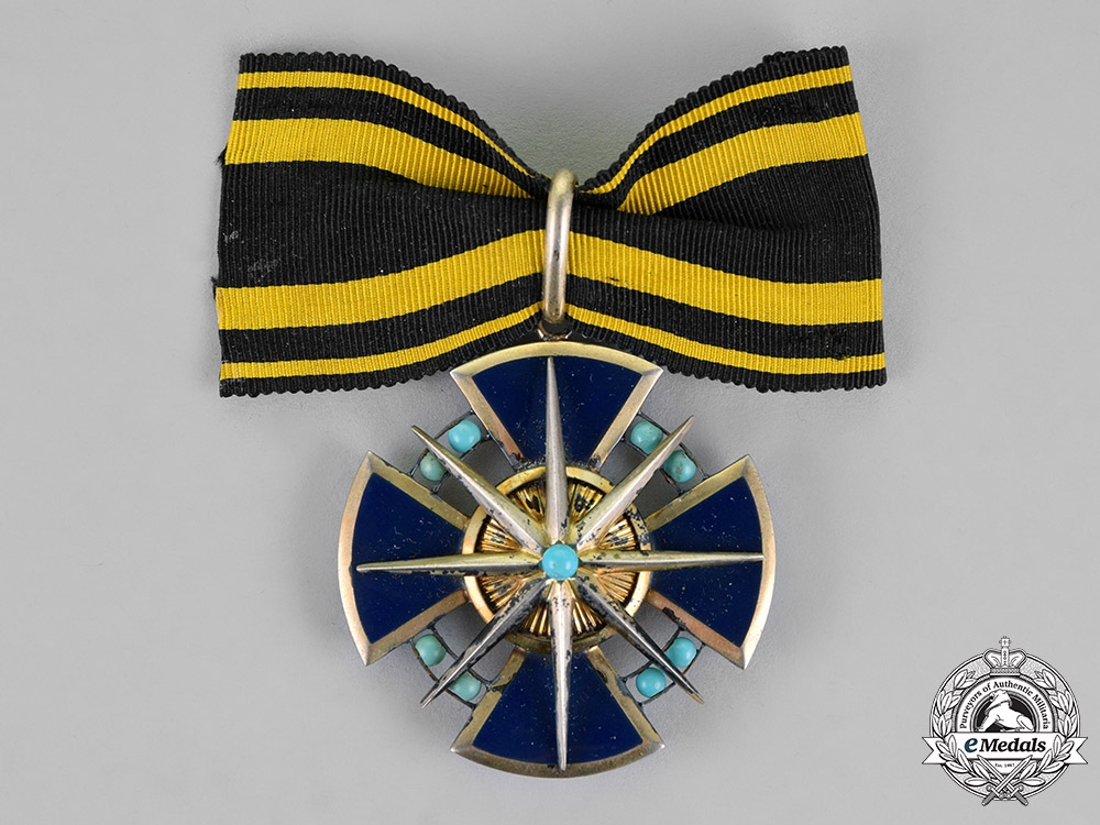 eMedals-Hesse-Darmstadt, Grand Duchy. An Order of the Star of Brabant, Dame of the Honour Cross, c.1914