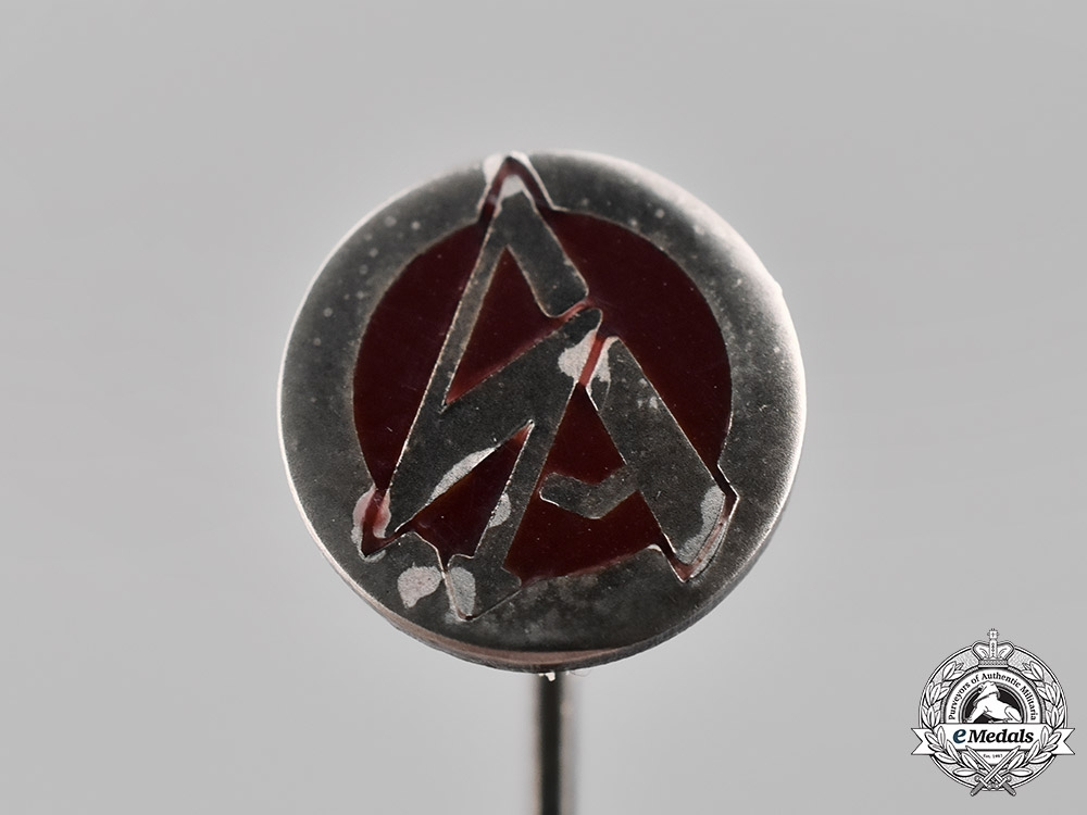 eMedals-Germany. An SA Stickpin by Gustav Brehmer