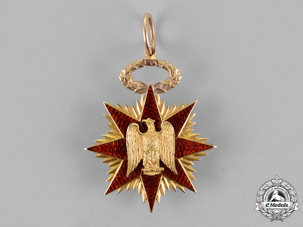 eMedals-United States. A Military Order of Foreign Wars of the Gold Membership Badge, c.1895