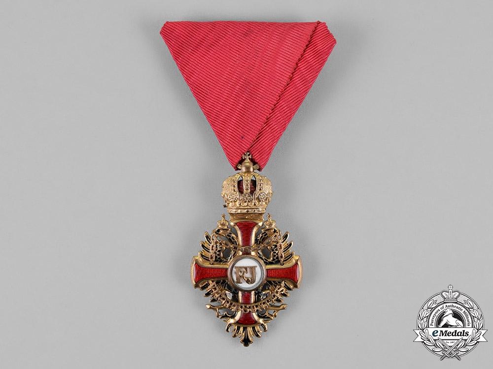 eMedals-Austria, Empire. An Order of Franz Joseph, Knight's Cross, by Wilhelm Kunz, c.1917