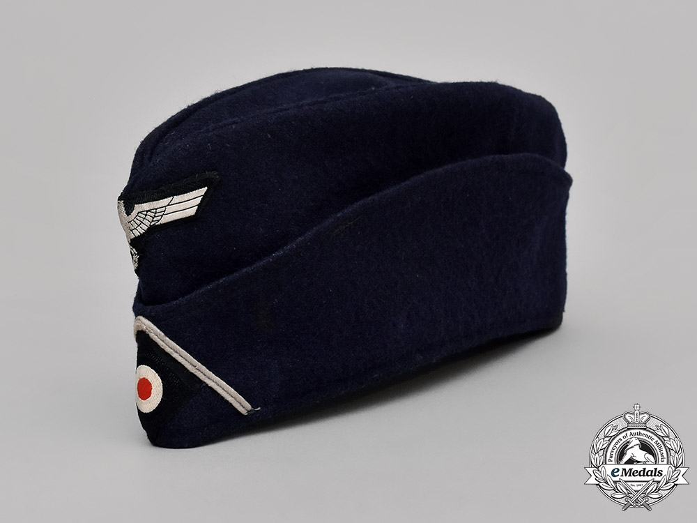 eMedals-Germany, RBD. A Railway Protection Police Overseas Cap, Dated 1939