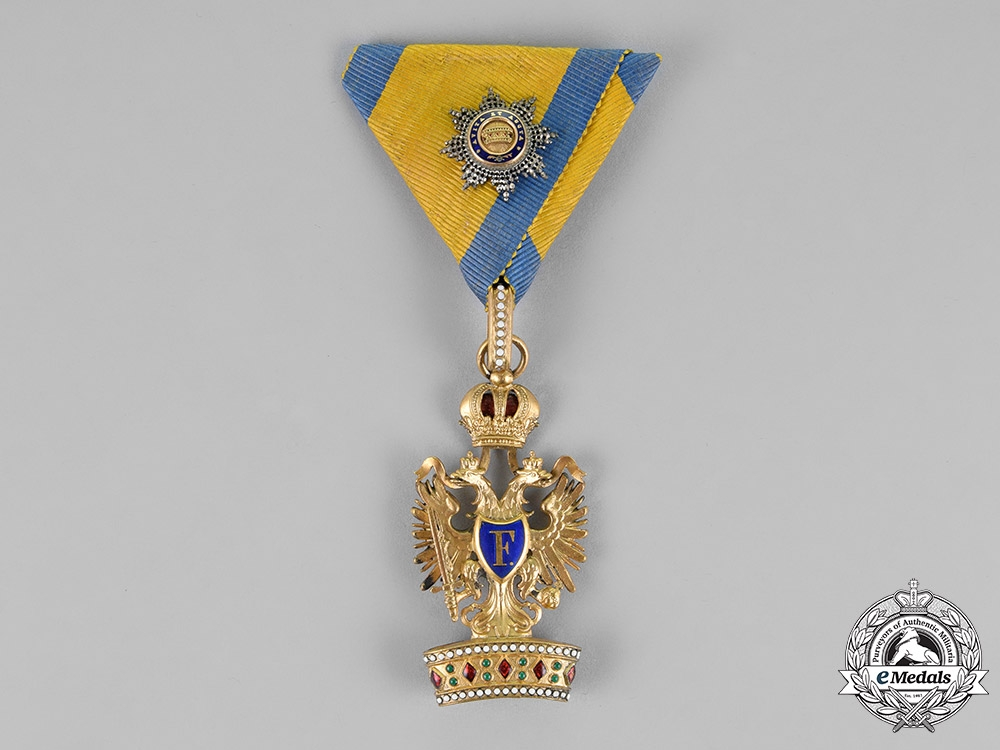 eMedals-Austria, Empire. An Order of the Iron Crown, Third Class, with First Class Small Decoration, c.1914