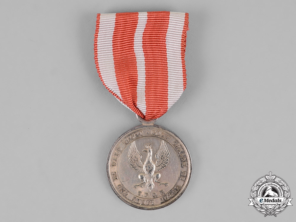 eMedals-Prussia, State. A Silver Volunteers of the War of 1814 Medal