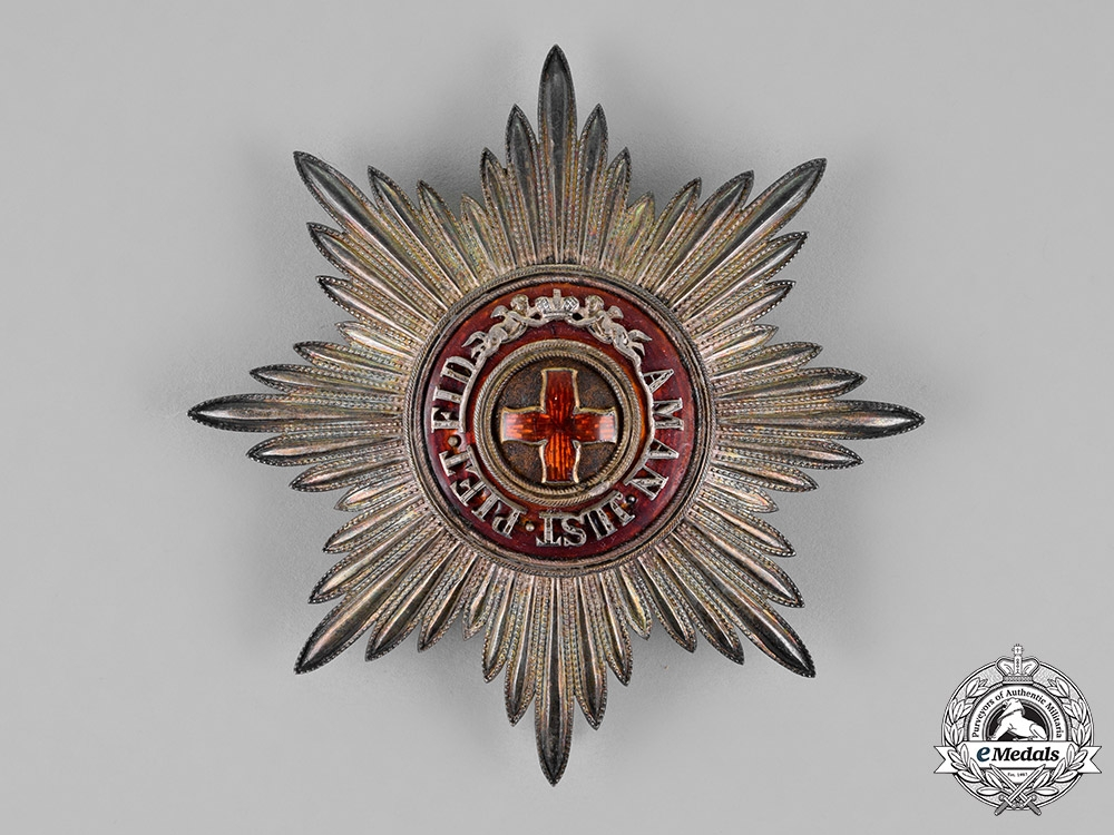 eMedals-Russia, Imperial. An Order of Saint Anne, 1st Class Grand Cross Star, by Albert Keibel, c.1900