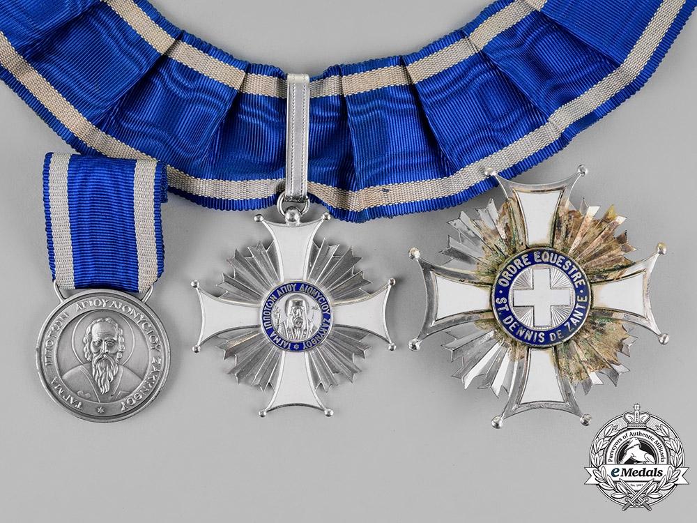 eMedals-Greece. Greek Orthodox. An Order of St. Dionysius of Zakynthos, c.1960