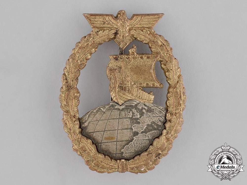 eMedals-Germany, Kriegsmarine. An Auxiliary Cruiser Badge