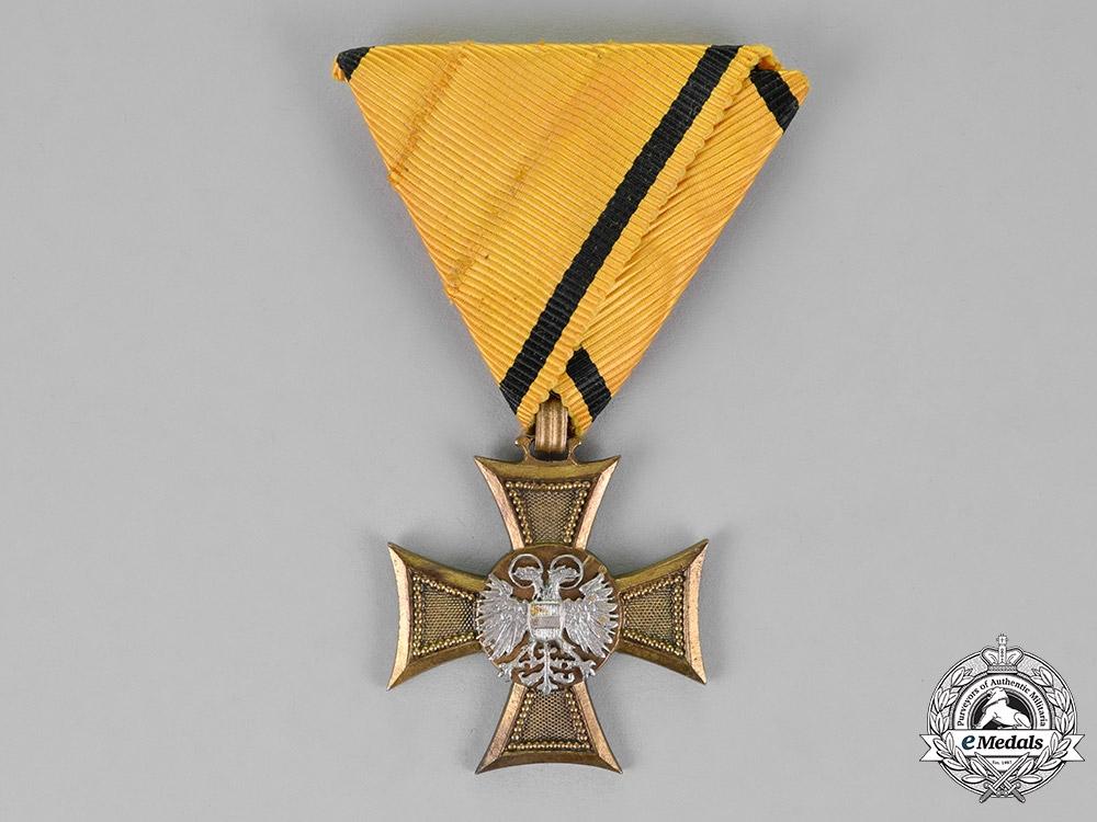 eMedals-Austria, Republik. A 25-Year Long Service Cross, Second Class For Officers