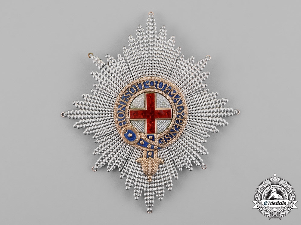 eMedals-United Kingdom. A Most Noble Order of the Garter, by Richard Davies, c.1815