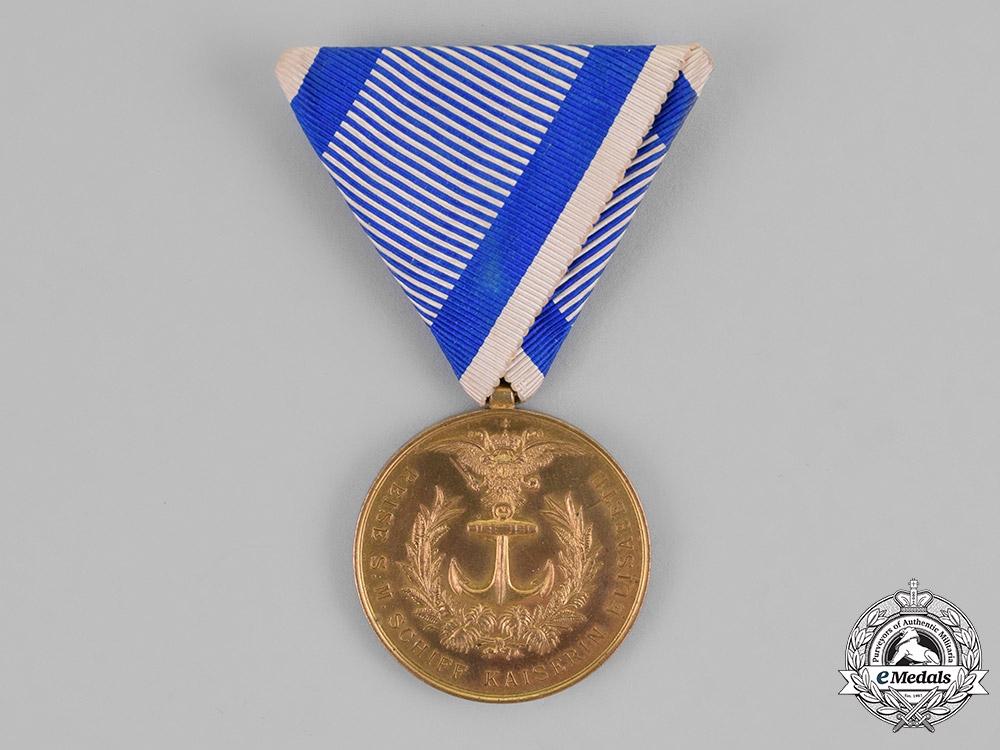 eMedals-Austria, Empire. A Commemorative Sea Travel Medal, c.1894