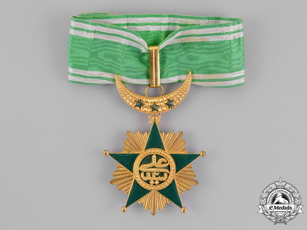 eMedals-Comoros, French Colonial. An Order of the Star of Comoro, Commander, c.1925
