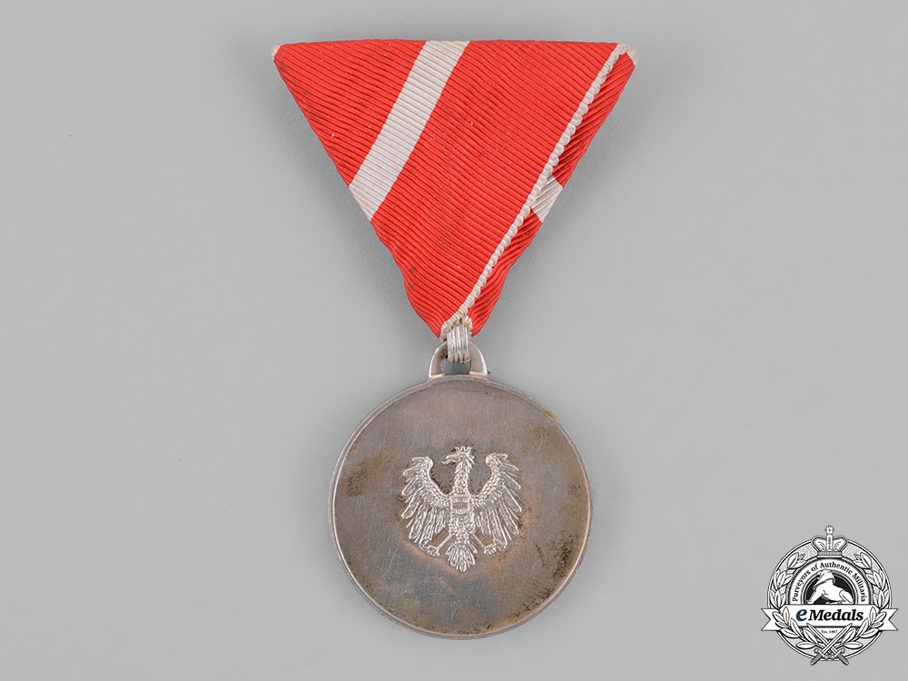 eMedals-Austria, Republic. A Merit Medal, Silver Grade