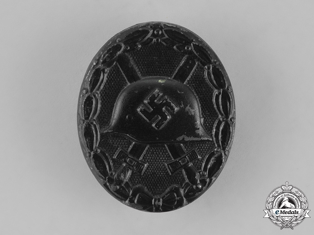 eMedals-Germany. A Wound Badge, Black Grade