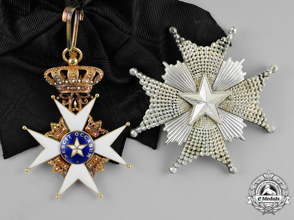 eMedals-Sweden, Kingdom. An Order of the North Star, 1st Class Grand Cross (KmstkNO), c.1915