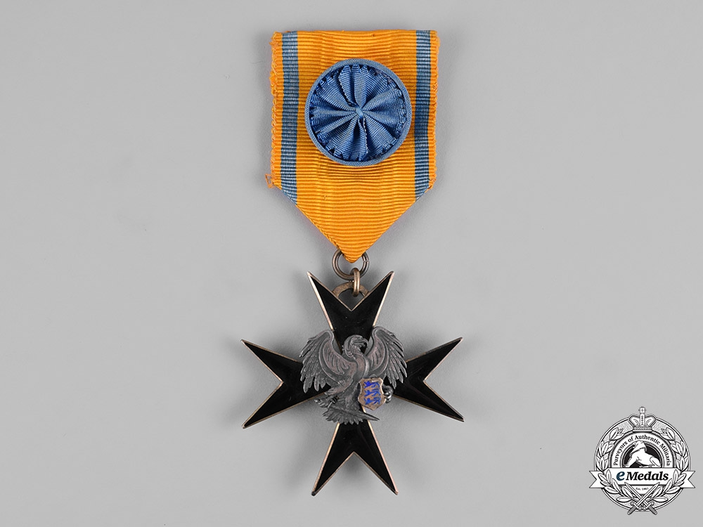 eMedals-Estonia, Republic. An Order of the Cross of the Eagle, IV Class