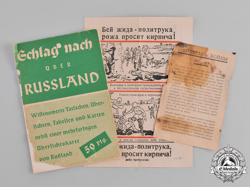 eMedals-Germany. A Group of Wehrmacht Eastern Front Publications