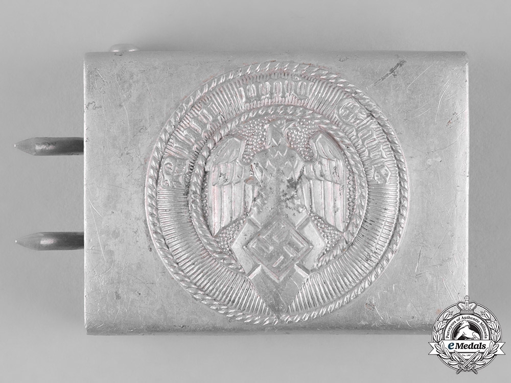 eMedals-Germany, HJ. A Belt Buckle by Friedrich Linden