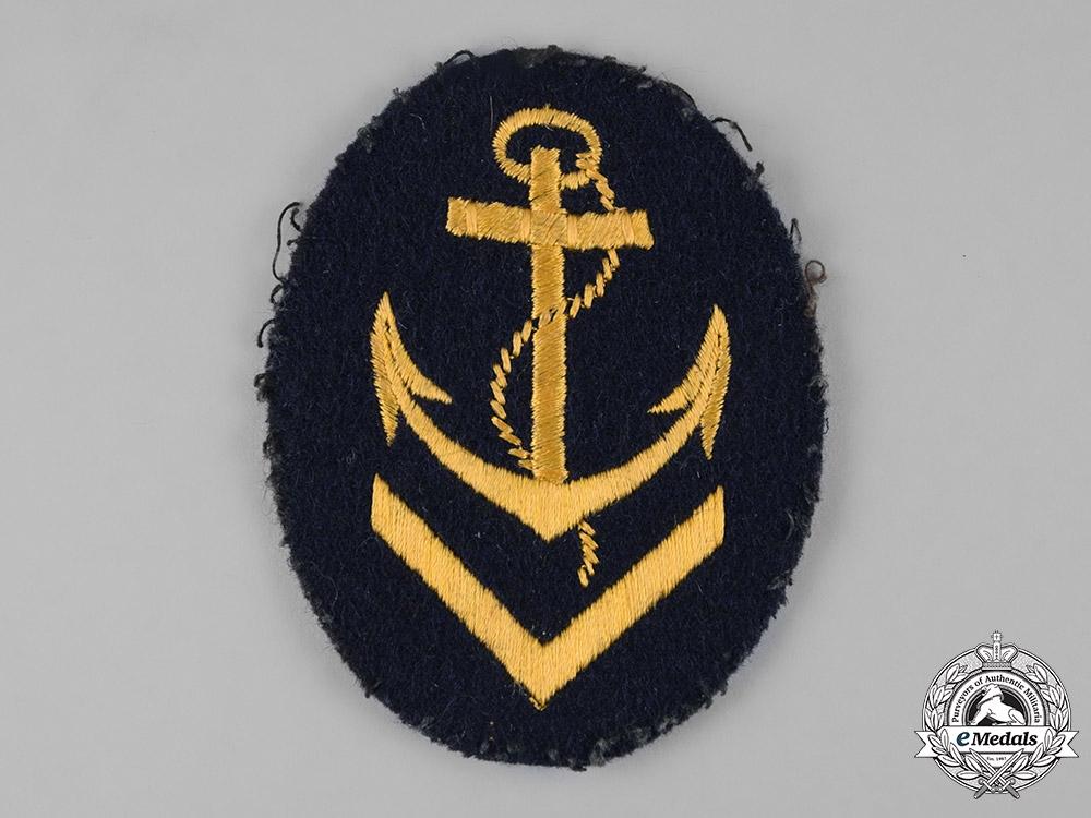 eMedals-Germany, Kriegsmarine. An Obermaat Sleeve Insignia