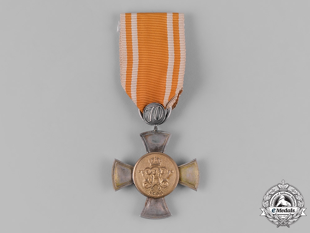 eMedals-Germany, Imperial. A General Honour Cross with 70 Year Clasp