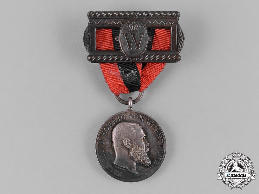 eMedals-Württemberg, Kingdom. A King Karl Jubilee Medal