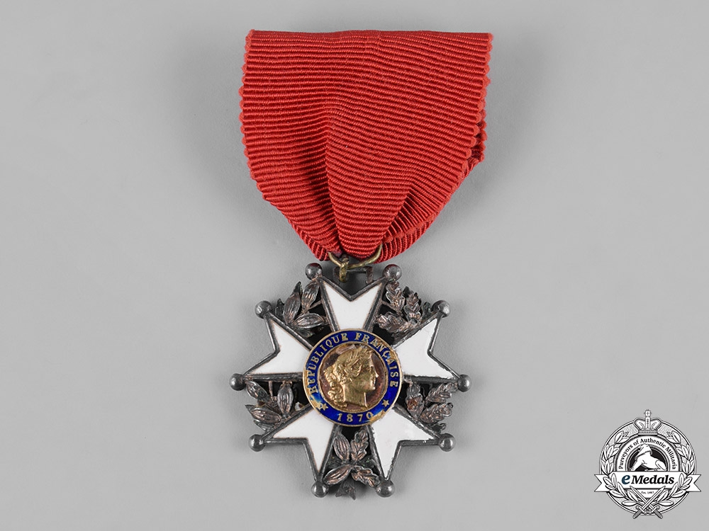 eMedals-France, III Republic. An Order of the Legion of Honour, Knight, c.1920