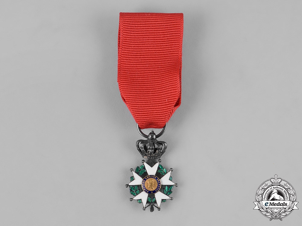 eMedals-France. II Empire. An Order of the Legion of Honour, Miniature Knight Cross, c.1870