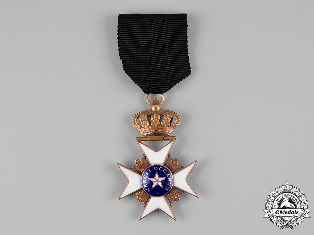 eMedals-Sweden, Kingdom. An Order of the North Star in Gold, Knight, Type I, c.1840