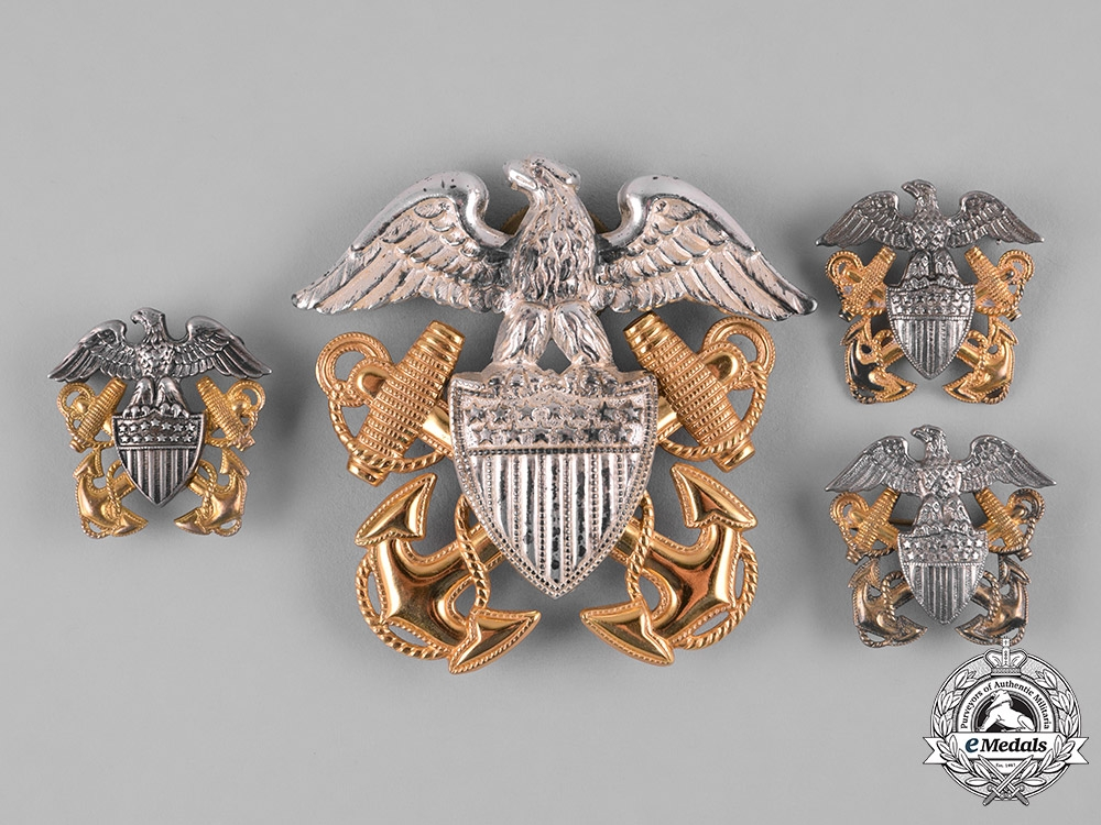 eMedals-United States. A Group of United States Navy Insignia