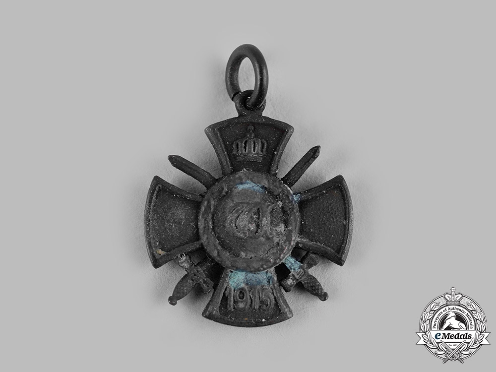 eMedals-Germany, Wurttemberg. A Wilhelms Cross for Merit in War 1915-1918, Miniature