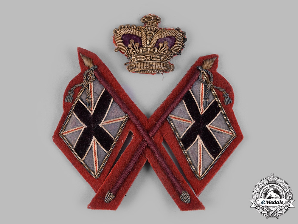 eMedals-United Kingdom. A Victorian Army Colour Sergeant's Sleeve Patch, c.1900