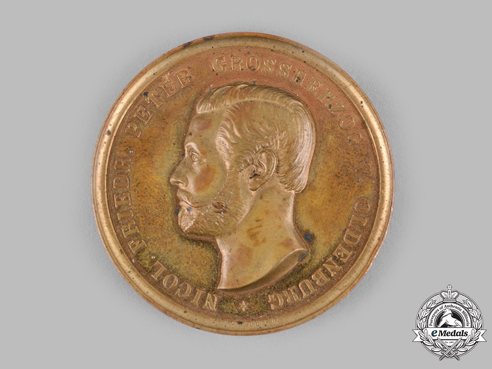 eMedals-Oldenburg, Grand Duchy. A Medal for Art and Science