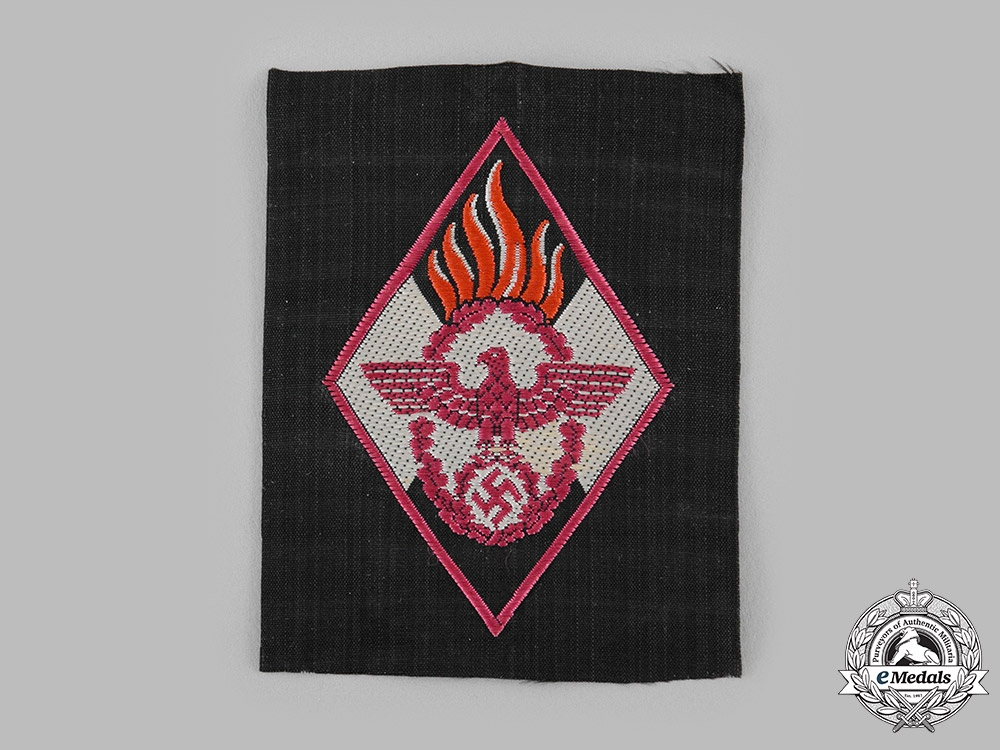 eMedals-Germany, HJ. A Fire Brigade Sleeve Insignia