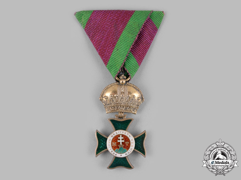 eMedals-Austria, Imperial. An Order of St.Stephen, Knight (Collectors Copy)