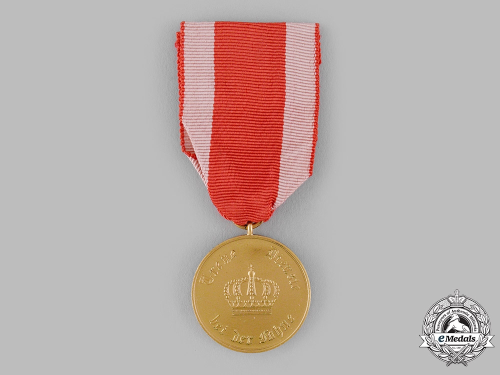 eMedals-Hesse, Grand Duchy. A 12-Year Long Service Medal