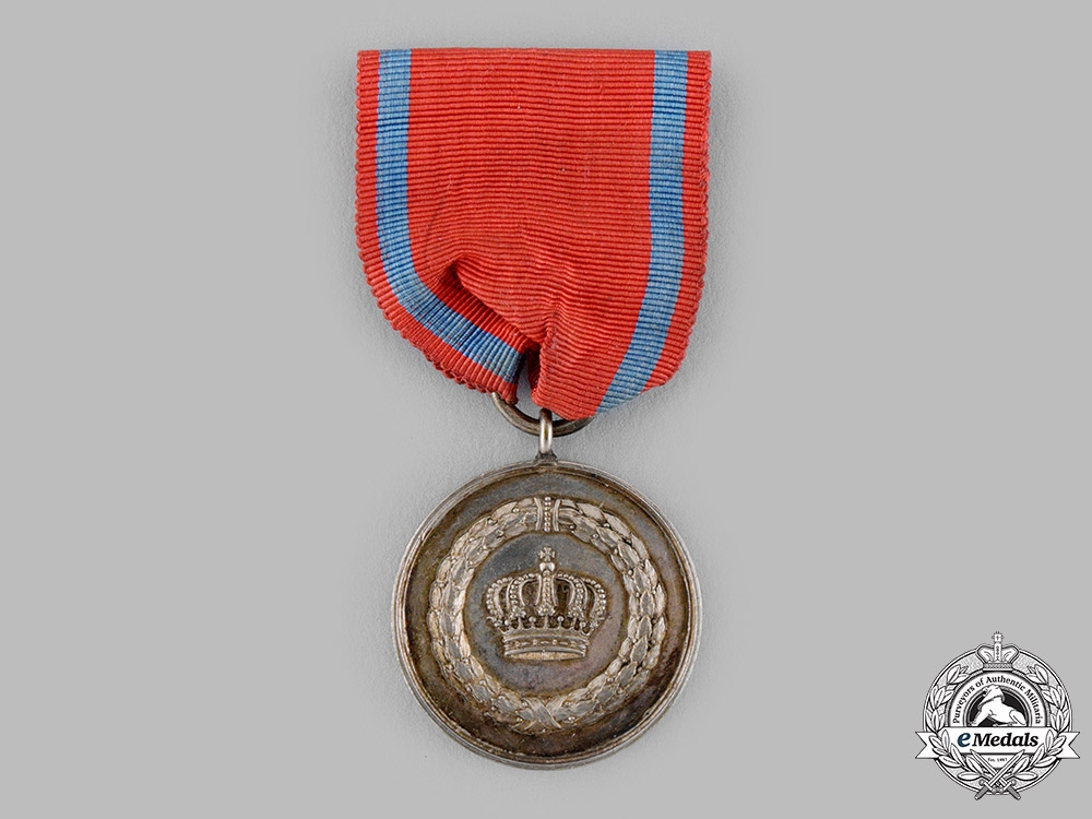 eMedals-Württemberg, Kingdom. A 9-Year Long Service Medal