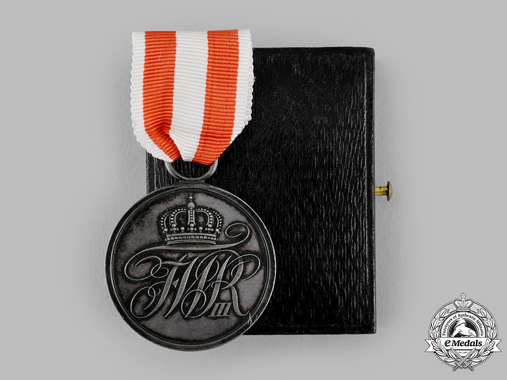 eMedals-Prussia, Kingdom. A General Honour Medal, II Class, with Case, c.1910
