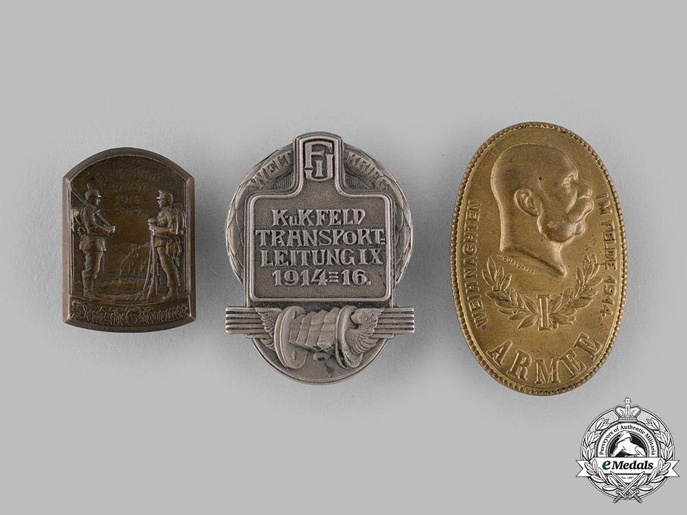 eMedals-Austria-Hungary, Empire. A Lot of Austro-Hungarian Cap Badges