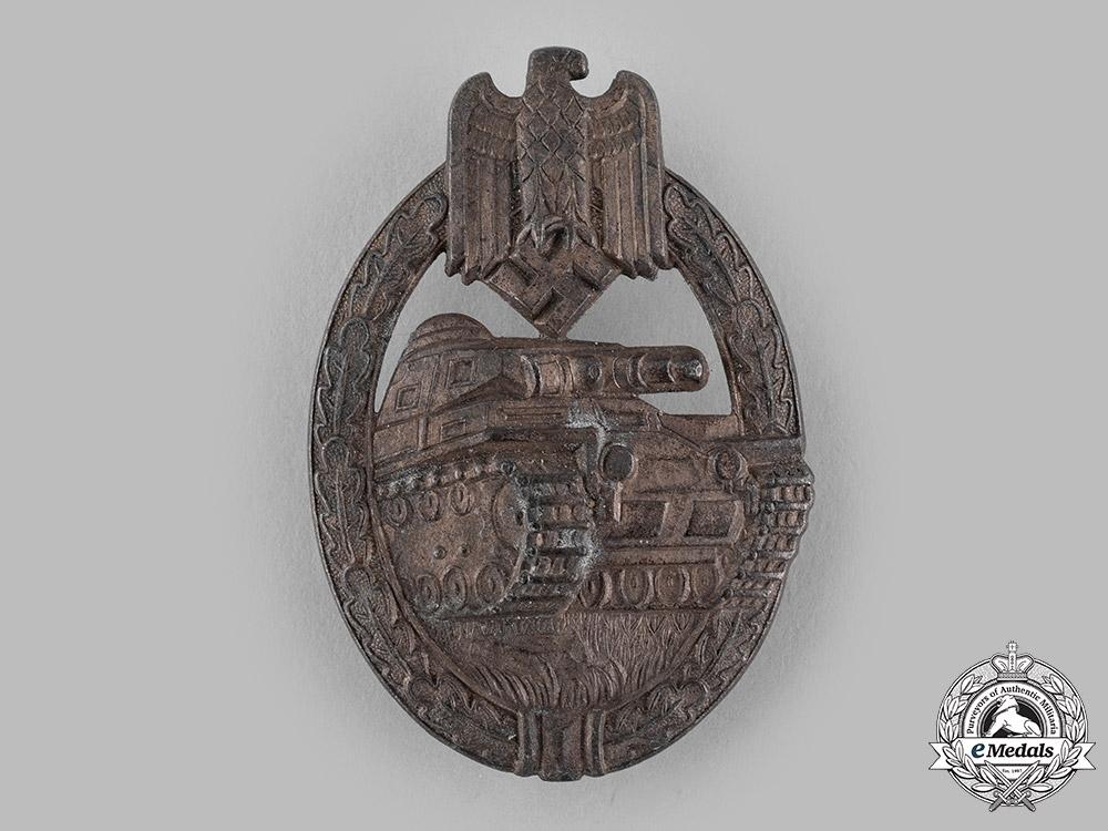 eMedals-Germany, Wehrmacht. A Panzer Assault Badge, Bronze Grade