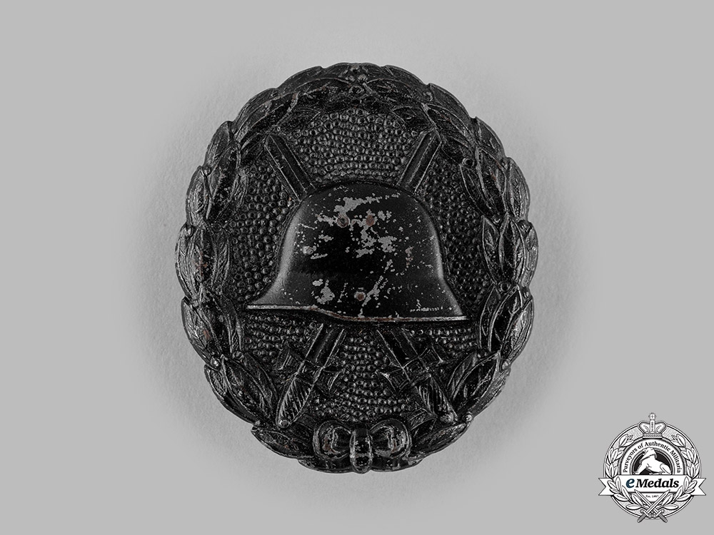 eMedals-Germany, Imperial. A Wound Badge, Black Grade