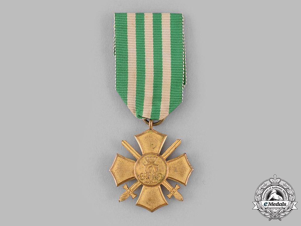 eMedals-Saxony, Kingdom. A General Honour Cross with Swords, c.1910