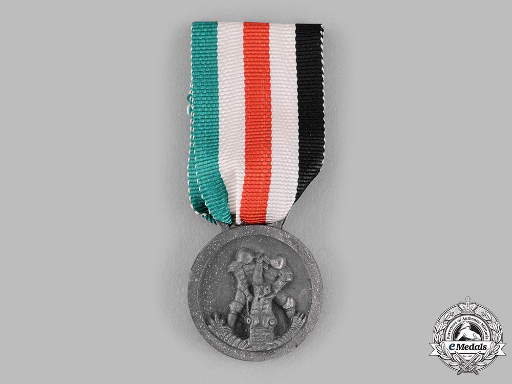 eMedals-Italy, Kingdom. An Italian-German African Campaign Medal by Lorioli