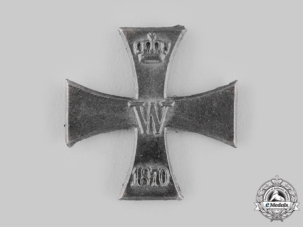 eMedals-Prussia, Kingdom. A Core for an 1870 Iron Cross