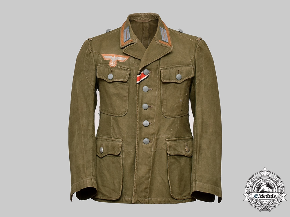 eMedals-Germany, Heer. A Tropical M41 Field Tunic