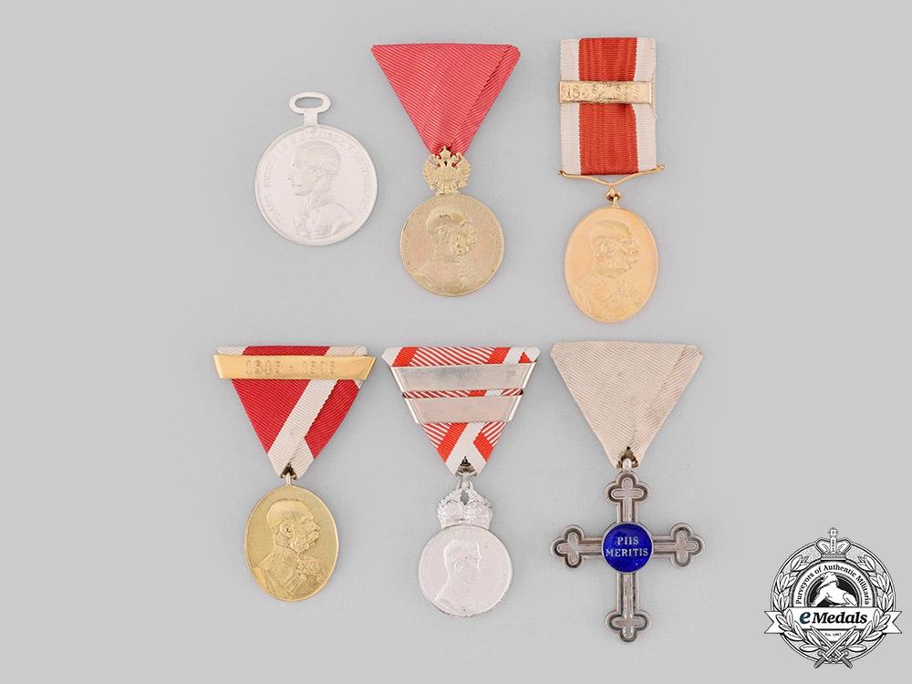 eMedals-Austria, Imperial. A Lot of Medals, Awards, & Decorations (Collectors Copies)