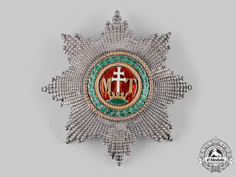 eMedals-Austria, Imperial. An Order of St. Stephen, Grand Cross Star (Collectors Copy)