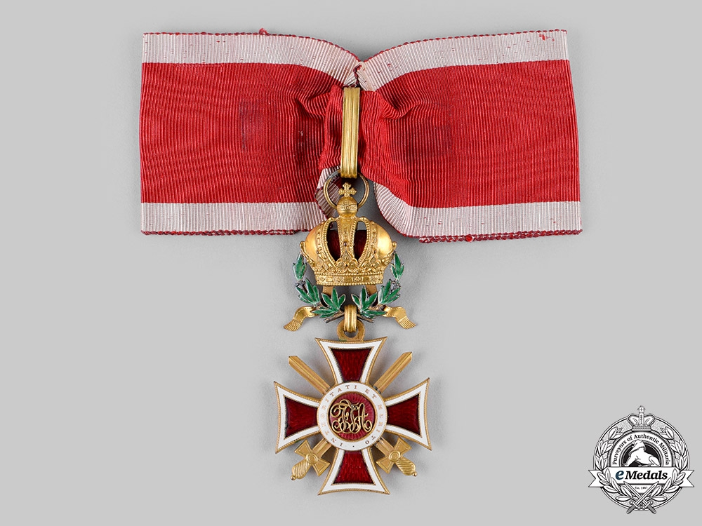 eMedals-Austria, Imperial. An Order of Leopold, Commander Cross, with Swords and War Decoration (Rothe Copy)