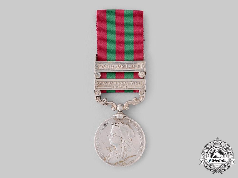 eMedals-United Kingdom. An India Medal 1895-1902, 1st Punjab Infantry