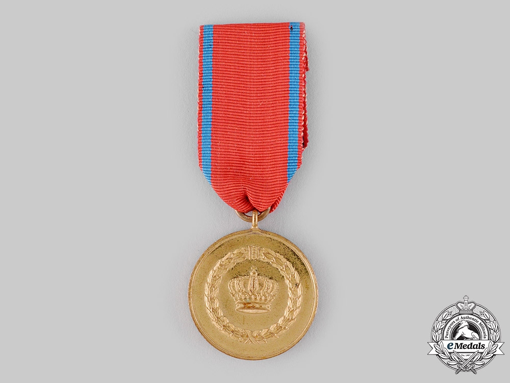 eMedals-Württemberg, Kingdom. A Long Service Medal, II Class, for 12 Years